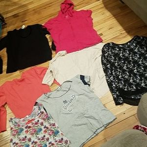 Womens size large shirt bundle